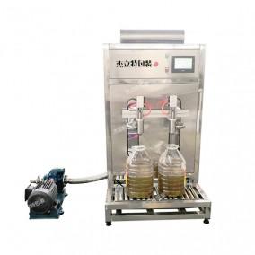 半自动大桶称重式食用油灌装机