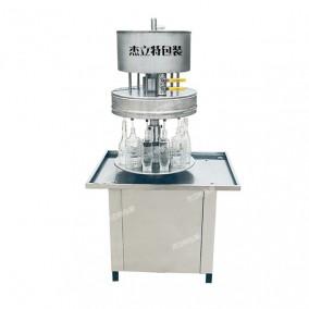 半自动高速转盘式玻璃水灌装机