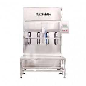 半自动大桶尿素液防冻液灌装机