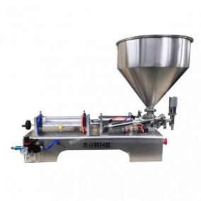半自动台式活塞油类灌装机