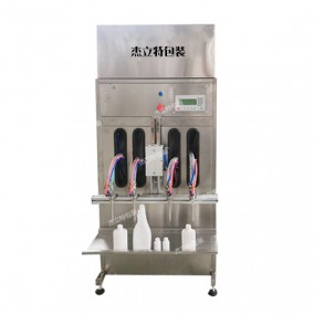 半自动玻璃水防冻液灌装机