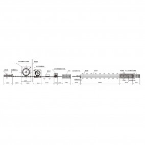 全自动白酒灌装生产线平面布置图