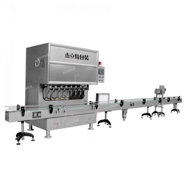 直线式高精度计量泵灌装机
